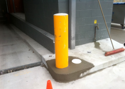 Bollard and concrete repairs